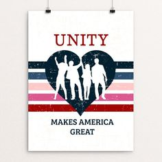 Unity By Noor Alyagoob - Print - What Makes America Great - Creative Action Network