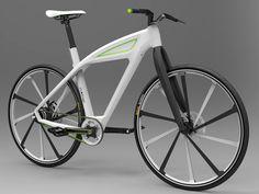 eCycle - Electric Bicycle Concept Design by Milos Jovanovic » Yanko Design