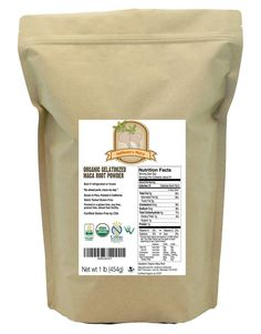 Anthony's USDA Organic Maca Root Powder, Gelatinized, Certified Gluten-Free
