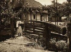 Negresti,-poarta-de-casa-taraneasca - case traditionale romanesti