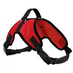 Cade Double Adjustable Dog Harness/ Soft Front Range Mesh Vest (S, Red) * Click on the image for additional details. (This is an affiliate link and I receive a commission for the sales)