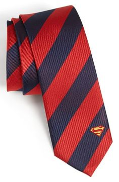 Bear down superman style DC Comics Superman Stripe Tie available at #Nordstrom