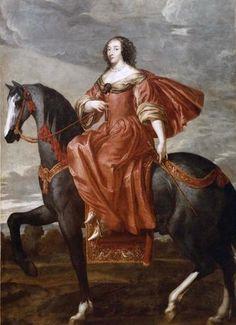 Julienne Hippolyte Joséphine d'Estrées, 1ère. Duchesse de Villars-Brancas, Marquise de Graville et de Cérisay, 1580-1649.