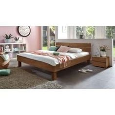Reduced solid wood beds - Hasena solid wood bed Madrid, cm, beech walnut-colored HasenaHasena Informations About Redu - Bedroom Storage, Bedroom Decor, Bedroom Ideas, Lawn Edging, Garden Edging, Home Grown Vegetables, Taj Mahal, Warm Home Decor, Nursery Curtains