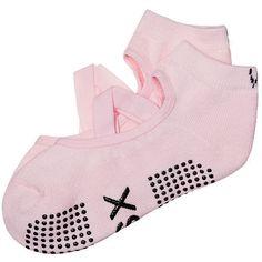 Victoria's Secret No-slip Socks ($15) ❤ liked on Polyvore featuring intimates, hosiery, socks and yoga socks