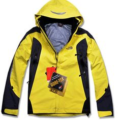 fcb2b2e7c244 The North Face Women s Yellow Black Gore Tex Pro Jacket Cheap North Face