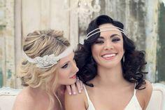 Crystal Headband, Wedding Headband, Rhinestone Headband, Wedding Hairpiece, Bridal Headpiece, Crystal Headpiece, Bride Headband - EMME on Etsy, $128.00