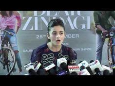 Alia Bhatt Singing Tittle Song Of Dear Zindagi Live For Her Fans