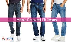Craving of Craziest Chic! - Men's Relaxed Fit Jeans  #RelaxedFit #MensJeans #Shopping #Online #Fashion