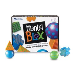 Learning Resources Mental Blox Critical Thinking Game, Red