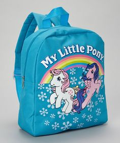 Take a look at this My Little Pony Rainbow Mini Backpack by My Little Pony on #zulily today!