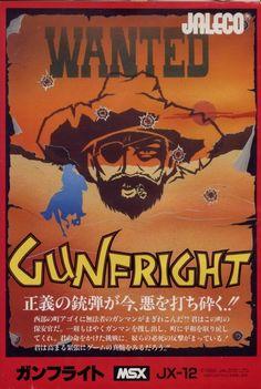 vgjunk:  Gunfright, MSX.  (Ulitmate Play the Game aka Rare -...