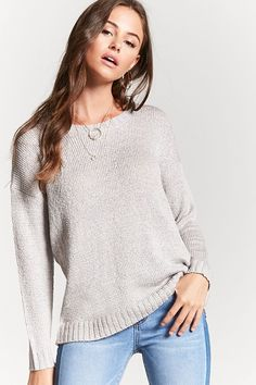 Textured Knit Sweater   Forever 21