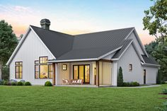 Black Friday Starts Now - Enjoy 15% off thousands of house plans (like this modern farmhouse plan). Questions? Call 1-800-447-0027 today. #architect #architecture #buildingdesign #homedesign #residence #homesweethome #dreamhome #newhome #newhouse #foreverhome #interiors #archdaily #modern #farmhouse #house #lifestyle #designer