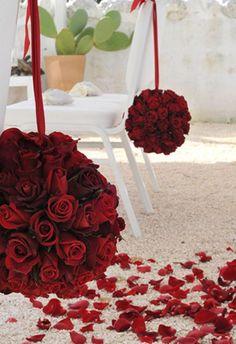classic red rose arrangements