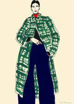Portfolio — Rosie McGuinness - GL Final Artwork 3 (no border) – Rosie McGuinness. Illustration Mode, Fashion Illustration Sketches, Fashion Sketchbook, Fashion Design Sketches, Art Sketchbook, Graphic Design Illustration, Art Postal, Fashion Figures, Fashion Portfolio