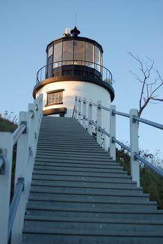 Owl's Head Lighthouse...  www.nanettefayephotography.com