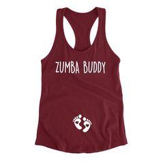 ce48bc28b Pregnancy Announcement Shirt, Zumba Buddy, Expecting Mom Gift, Pregnancy  Gift, Pregnancy Workout