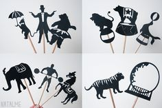 Shadow Puppet Theater Tutorial from Natalme