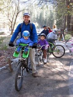 Tips for biking Yosemite National Park with a baby, toddler, or little kid | Travels With Baby Tips