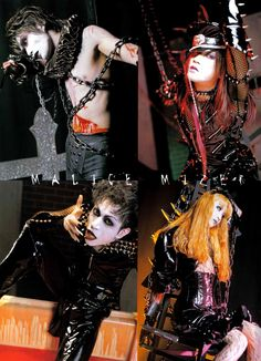 "Malice Mizer (sans Gackt) in their ""Illuminati"" costumes. Pose Reference Photo, Reference Book, Dir En Grey, Punk Goth, Cybergoth, Aesthetic Images, Post Punk, Gi Joe, Visual Kei"