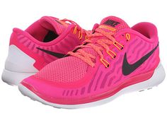 Nike Free 5.0 Pink Foil/Pink Pow/Bright Citrus/Black - Zappos.com Free Shipping BOTH Ways