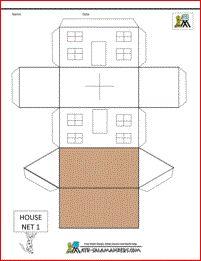 Domein: meetkunde, onderdeel: ruimtelijk inzicht, doel: adhv een uitslag een ruimtelijke vorm maken