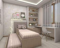 Dormitorios infantiles de estilo moderno por Bruna Schuster Arquitetura & Interiores