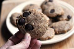 honey whole-wheat peanut butter chippers