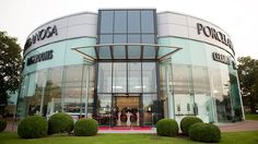 PORCELANOSA Group refurbishes its #showroom in #Solihull, #UK