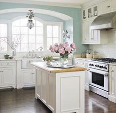 Popular Kitchen Wall Paint Colors Ideas You Should Know (14) – decorke.com