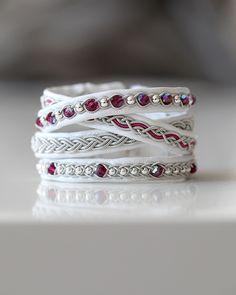 Paracord, Macrame, Swarovski, Silver Rings, Wedding Rings, Engagement Rings, Jewels, My Style, Bracelets