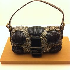 Fendi Baguette: the Filigree leaf details remind me of all things Grecian