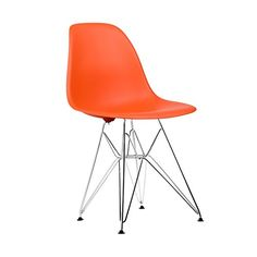 Poly and Bark Eames Style Molded Plastic Eiffel Chrome Wire Leg Side Chair, Orange, Set of 2 Poly and Bark http://smile.amazon.com/dp/B00PZN0732/ref=cm_sw_r_pi_dp_4gSHvb0PJP1FN