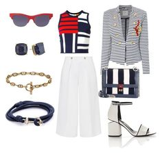 """Sea"" by no555 on Polyvore featuring мода, Kate Spade, Kenzo, Tommy Hilfiger, Alexander Wang, Victoria, Victoria Beckham и Fendi"
