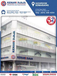 Sahabat KENARI DJAJA Yang Berada Di Semarang, Dapatkan Segera Produk-Produk Berkualitas Hanya Di KENARI DJAJA.  Kami Ada Di : Jl. Agus Salim, Komplek THD Blok C/8 Telp : (024) 356 4254/55, Fax : (024) 356 4256 SEMARANG  Informasi Hub. : Ibu Tika 0812 8567 7070 ( WA / Telpon / SMS ) 0819 0506 7171 ( Telpon / SMS )  Email : digitalmarketing@kenaridjaja.co.id  [ K E N A R I D J A J A ] PELOPOR PERLENGKAPAN PINTU DAN JENDELA SEJAK TAHUN 1965  SHOWROOM :  JAKARTA & TANGER..