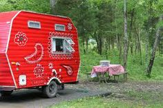 Google Image Result for http://theresnoplacelikehomemade.files.wordpress.com/2012/05/red-painted-camper.jpg  I love this!!