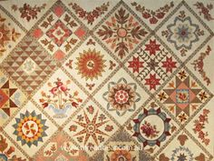 antique wedding sampler quilt - Google Search