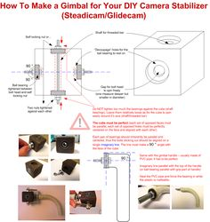 how to make a steadicam at home