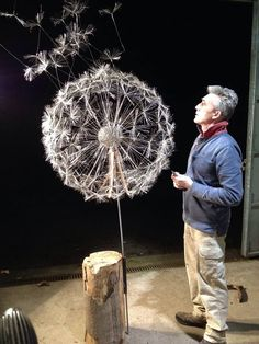 Robin Wight - Wire Fairy Sculptures - UK based sculptor mainly works with stainless steel wire,