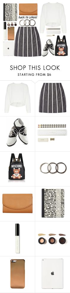 """""""Go Back To Schjool Shopping"""" by emcf3548 ❤ liked on Polyvore featuring Maticevski, dVb Victoria Beckham, Pinup Couture, Kate Spade, Moschino, Pearls Before Swine, Skagen, Bobbi Brown Cosmetics and BackToSchool"""