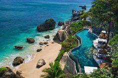 AYANA Resort and Spa (Jimbaran, Indonesia) Look's like heaven to me.
