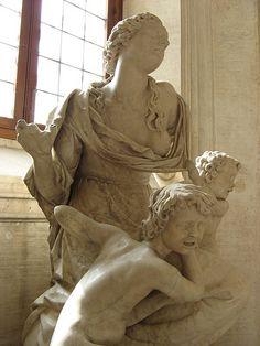 Motherhood sculpture at Palazzo Barberini
