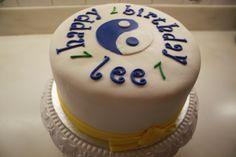 Karate theme cake for a boy.
