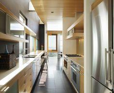 60 best galley kitchen design ideas images kitchen dining rh pinterest com