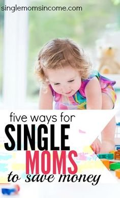 Are you looking for some unique ways to get more out of your money? Here are five ways for single moms to save money. Some of these are pretty great ideas! http://singlemomsincome.com/5-ways-single-moms-save-money/
