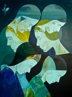 Essam Marouf, 2011. acrylic on linen