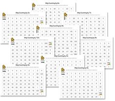 Classical Conversations - Math - weeks 1 Skip counting mazes - Great in page protectors and a binder for dry erase markers to re-use. Free Math Worksheets, Math Resources, Math Activities, Counting Worksheet, Numbers Kindergarten, Math Numbers, Number Puzzles, Homeschool Math, Homeschooling