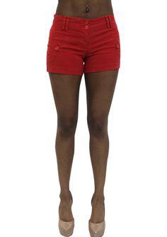 Pretty Girl - Red Cargo Shorts, $8.99 (http://www.shopprettygirl.com/red-cargo-shorts)