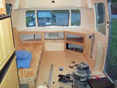 Couch/Bed and entertainment center progress - Airstream Forums